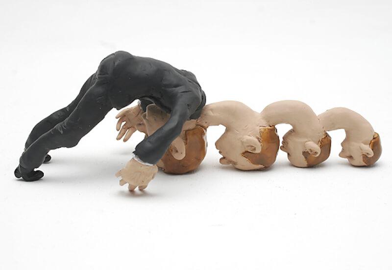 "Martin Nill:klonk-klonk-klonk, Ausstellung ""nillpop"" Bunsen Goetz Galerie Nürnberg"