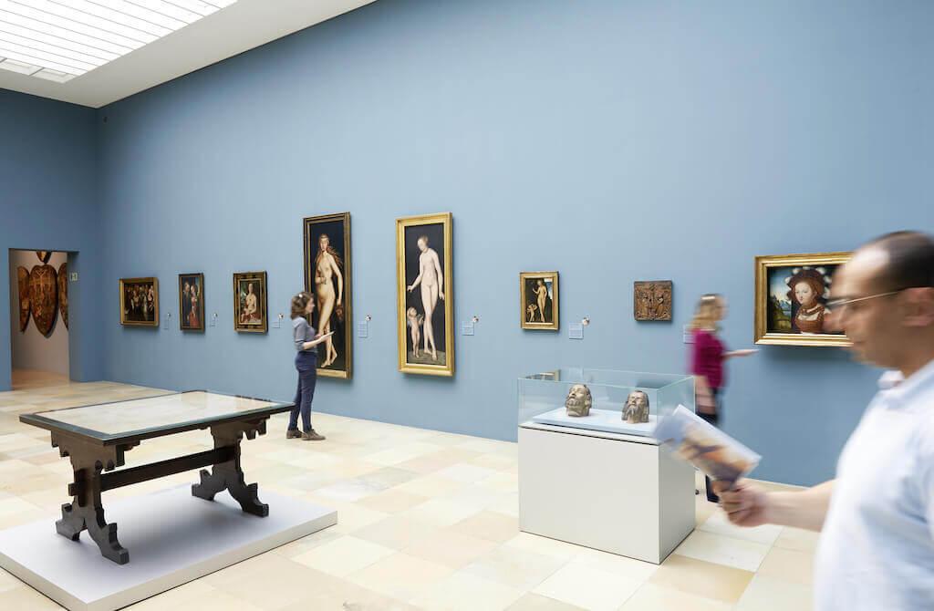 Blicke in die Ausstellungsräume, © GNM