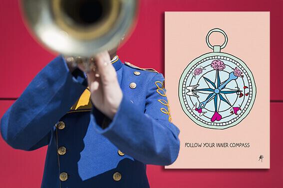 Follow your inner compass, © Bogi Nagy