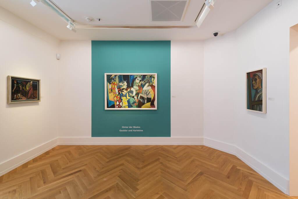 Blick in den Ausstellungsraum 9, © Kunstvilla im KunstKulturQuartier, Nürnberg; Foto: Annette Kradisch, Nürnberg
