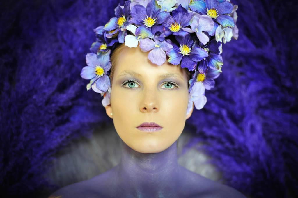 The Purple ,2015, Accessoires/ Köstüme: Mariella Fasone, Nikon D1X, © Mariella Fasone