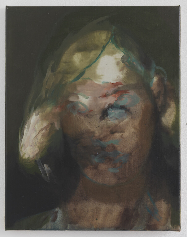 Anita, 2014, Öl auf Leinwand, 45x35cm, © Nazzarena Poli Maramotti