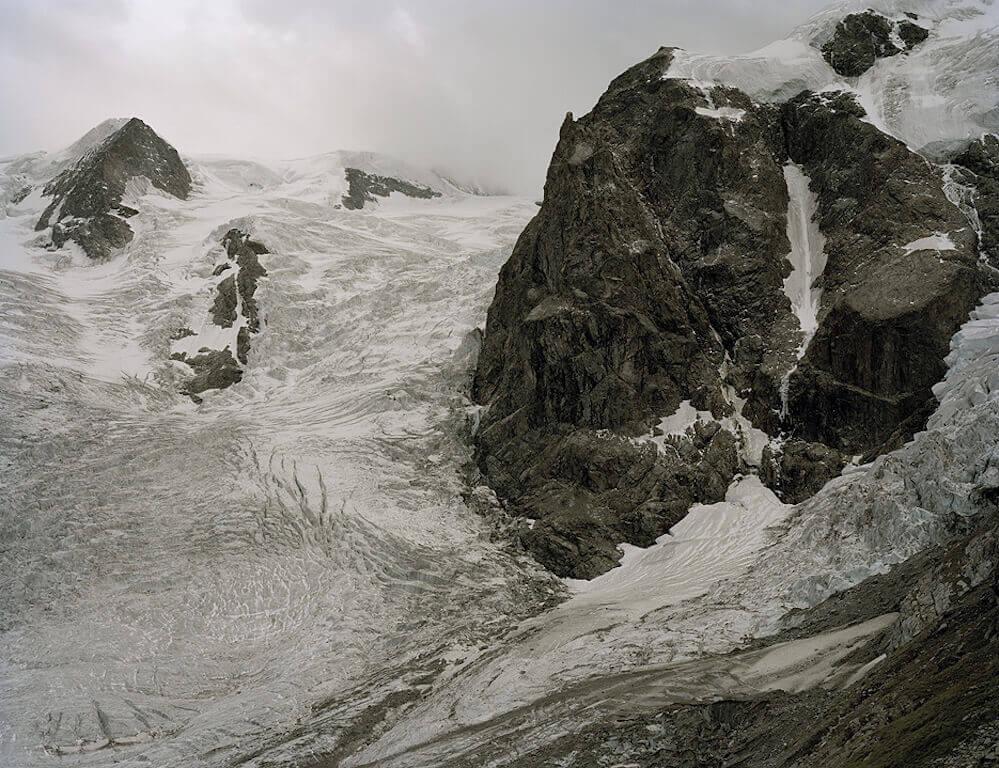 Morteraschgletscher, 50x65cm, © Olaf Unverzart