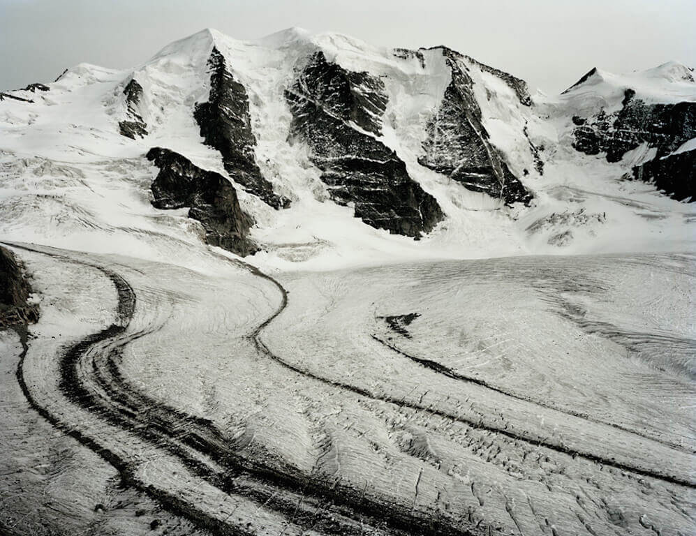 Persgletscher, 125x168cm, gerahmt, © Olaf Unverzart