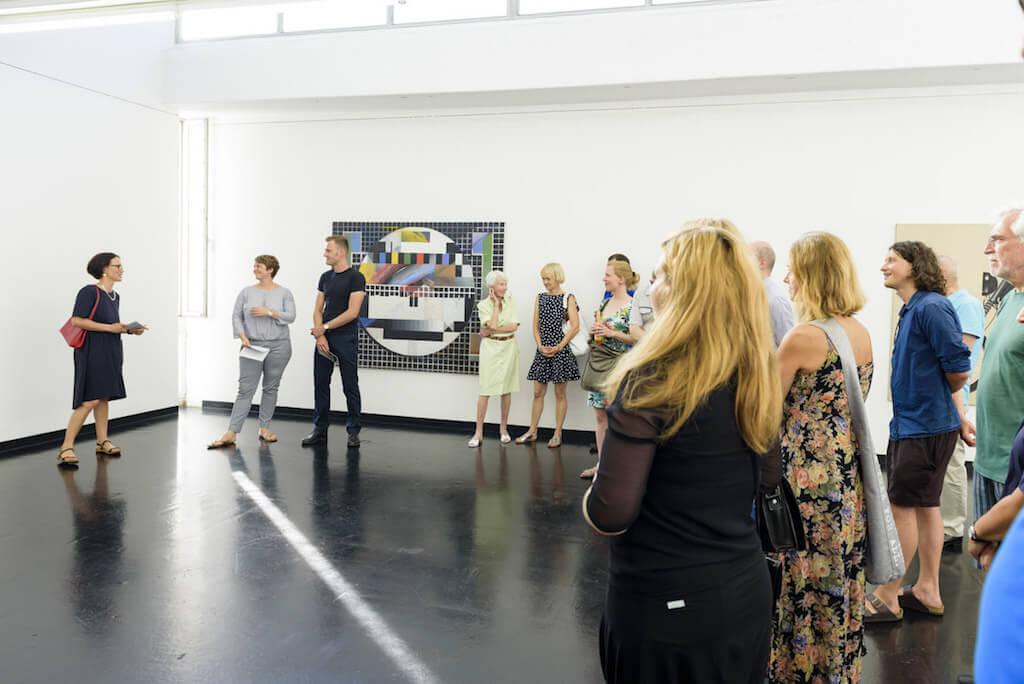 Robert Seidel: Ausstellung Schnapsidee im Institut für moderne Kunst im Defet-Haus, © Foto: Uwe Niklas
