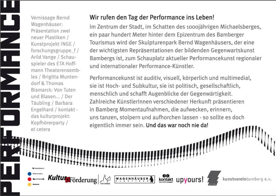 Tag der Performance in Bamberg
