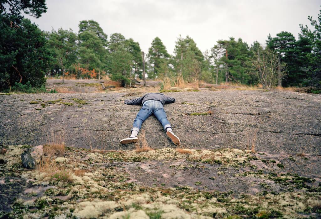 Verbindunge, 2014, Analoge Fotografie, Mittelformat, © René Radomsky