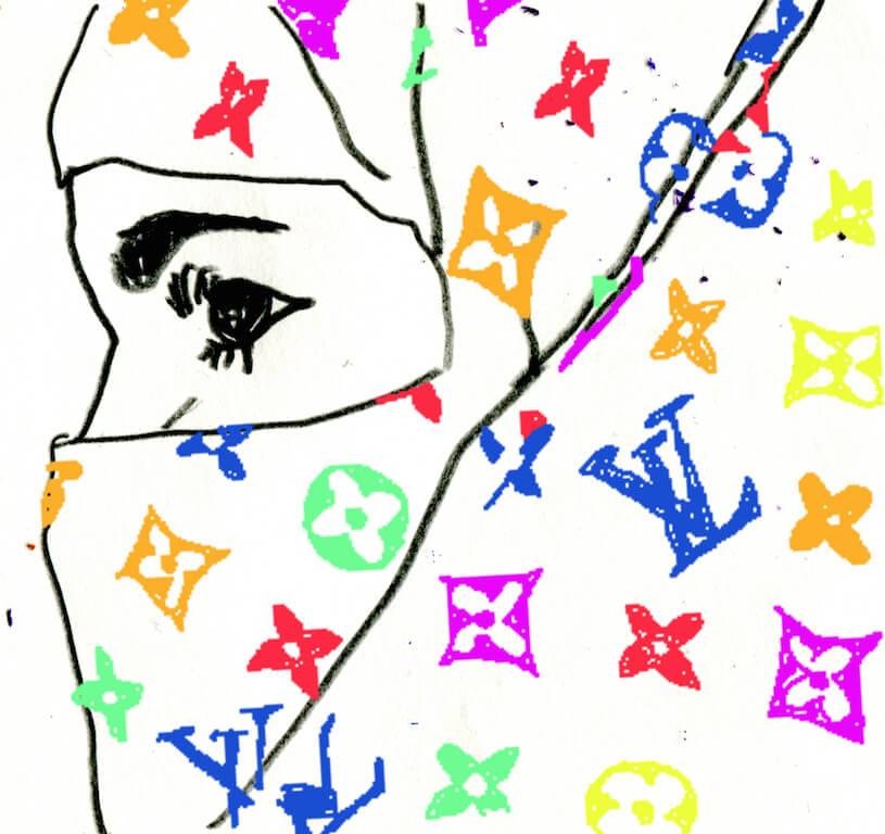 o.T.,2014, analoge Zeichnung, digital coloriert, o.T.,2014, analoge Zeichnung, digital coloriert, © Jonas Dorner