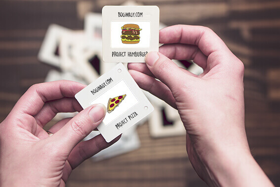 project, hamburger, pizza, © Bogi Nagy