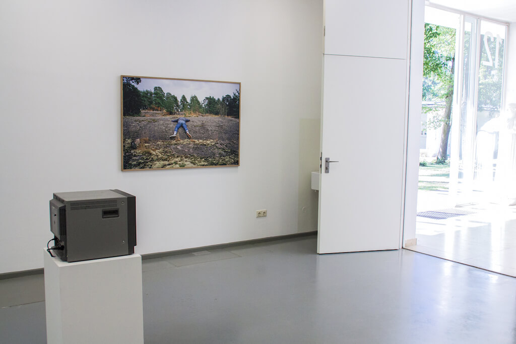 Ausstellungsansicht, Jahresausstellung 2015, AdBK Nürnberg, © René Radomsky