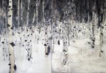 Birkenwälder | 2015 | Öl auf Leinwand| 200 x 330 cm, © Jihee Kim