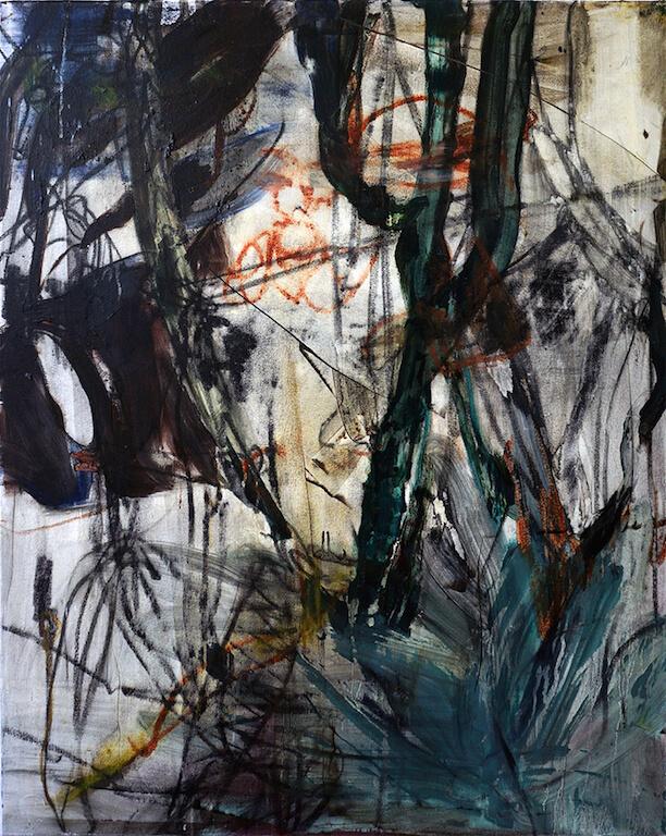 o.T.   2015   Öl auf Leinwand   100 x 80 cm, © Jihee Kim