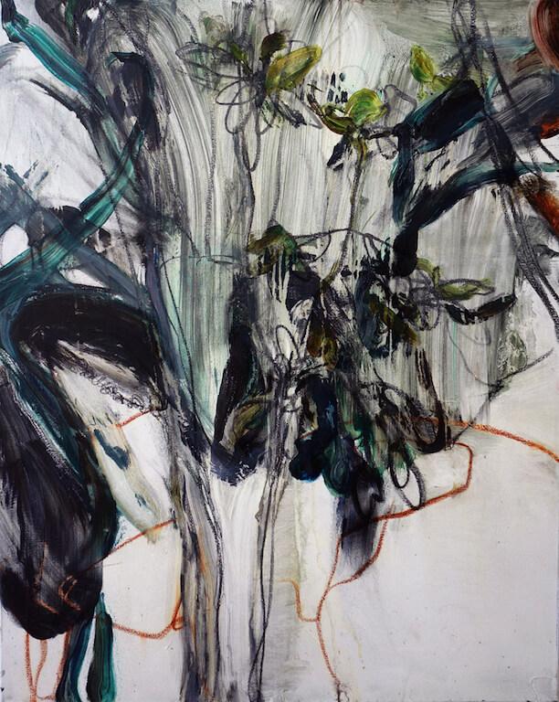 o.T. | 2015 | Öl auf Leinwand | 100 x 80 cm, © Jihee Kim
