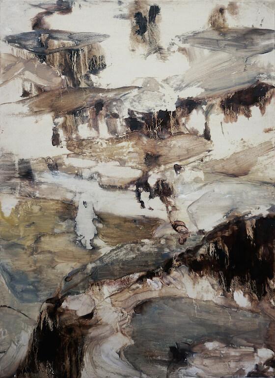 o.T.   2014   Öl auf Leinwand   75 x 55cm, © Jihee Kim