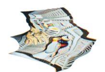 ''Distow 4', 20-20cm, Colour Pencil on Paper 2015, © Alexandre Karaivanov