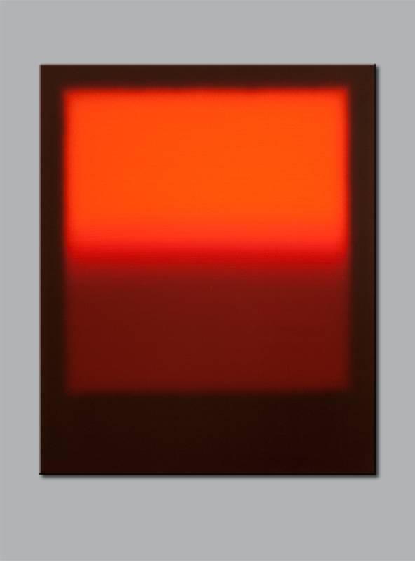 """Farbfeld """"F 1113-19"""" / 2013 / Acryl auf Leinwand / 60cm (H) x 50cm, © Mara Ruehl"""