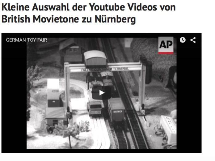 Nürnberg in historischen Filmaufnahmen
