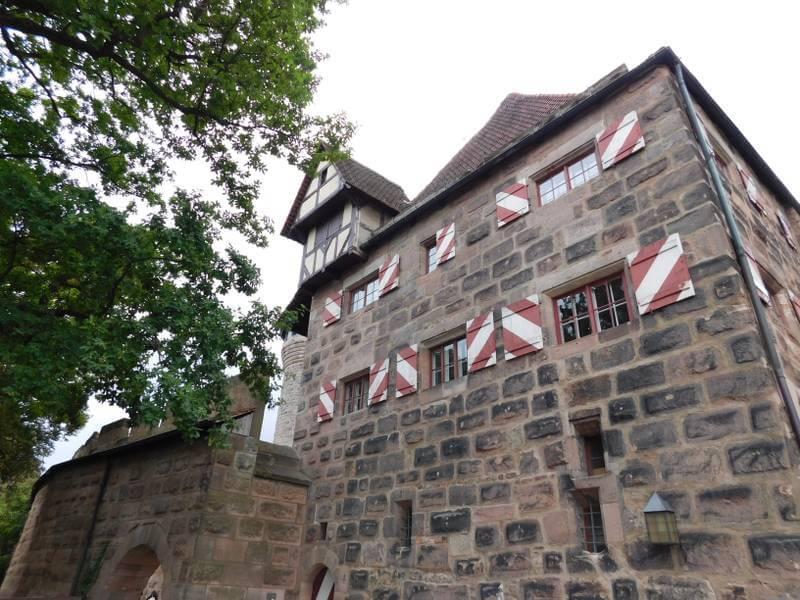 Burgamtmannshaus, Nürnberger Burg