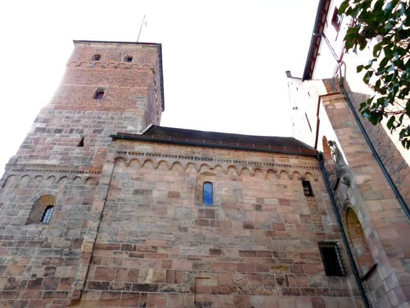Doppelkapelle, Nordseite, Kaiserburg Nürnberg, Foto: Alexander Racz
