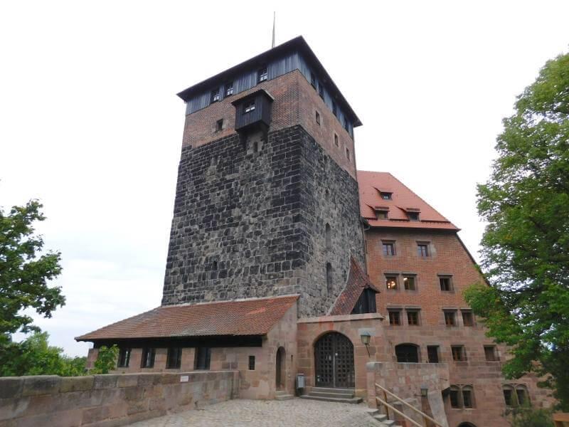 Fünfeckiger Turm, Nürnberger Burg