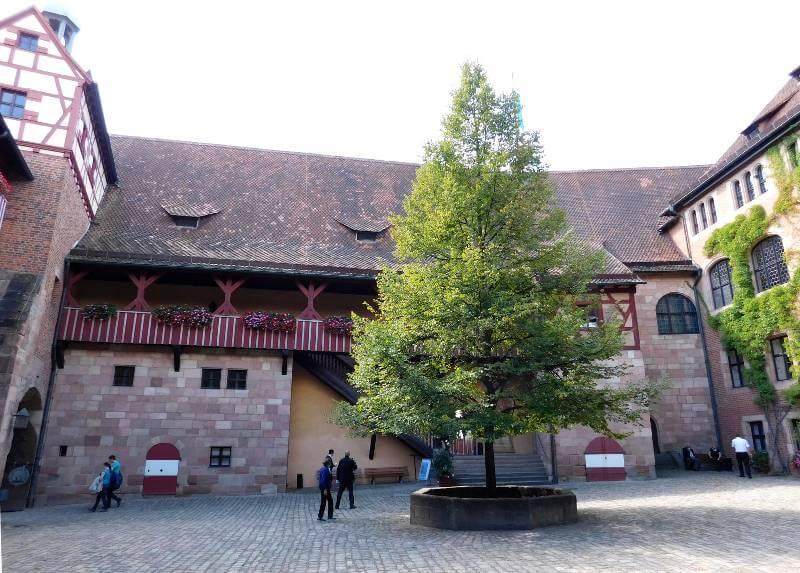 Palas der Kaiserburg Nürnberg, Foto: Alexander Racz