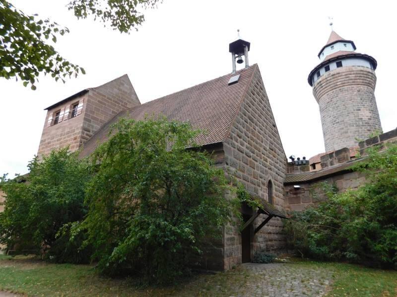 Walpurgiskapelle, Burgatelier von Günter Schmidt-Klör, Sinwellturm, Nürnberger Burg