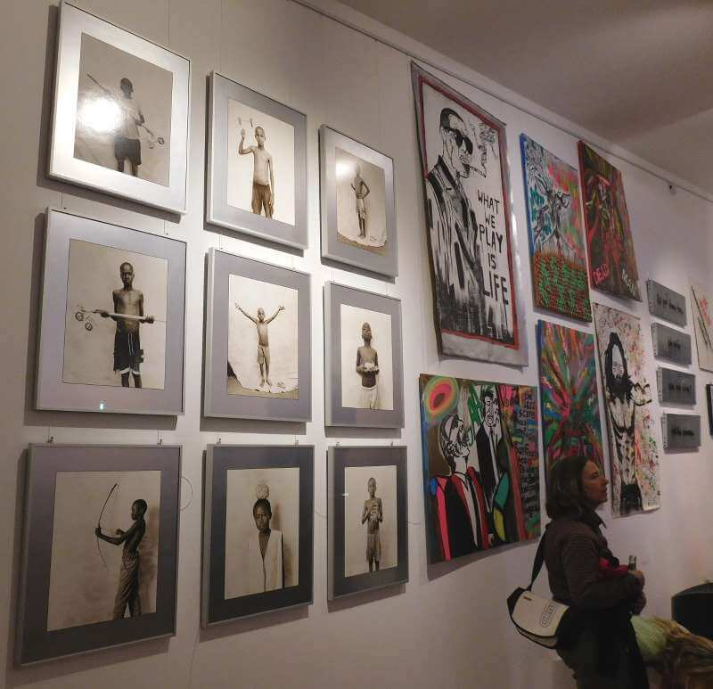 Eis am Style #2 in der Galerie Eisdiele, Foto: Alexander Racz