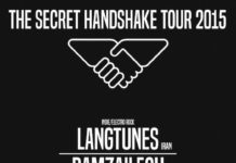 SECRET HANDSHAKE Tour 2015