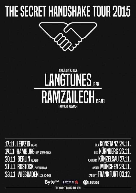 SECRET HANDSHAKE Tour 2015