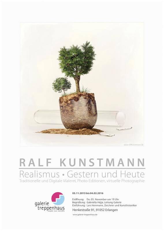 Flyer Ausstellung Realismus, Gestern und Heute