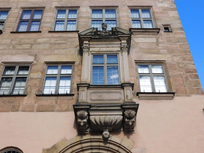 Stadtmuseum Fembohaus, Chorlein über dem Eingang, © Alexander Racz, 2015