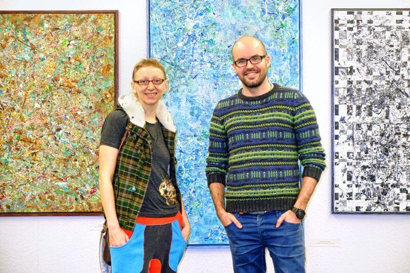 Nata Dolheimer und Alex Petrenko auf der consumART 2015, Foto: Martin Rehm