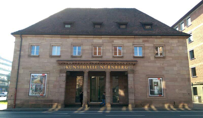 Kunsthalle Nürnberg, Fassade