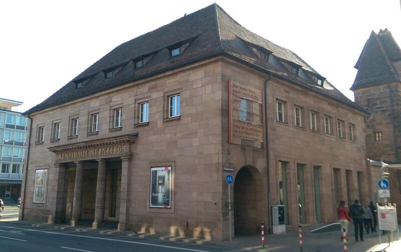 Kunsthalle Nürnberg, Ansicht