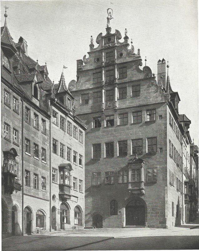 Stadtmuseum Fembohaus, aus: Das alte Nürnberg, Aufgenommen von der Staatlichen Bildstelle, Berlin, 1933-35