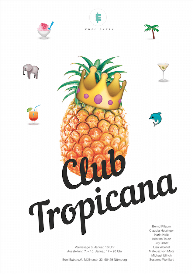 Club Tropicana im Edel Extra e.V., Flyer