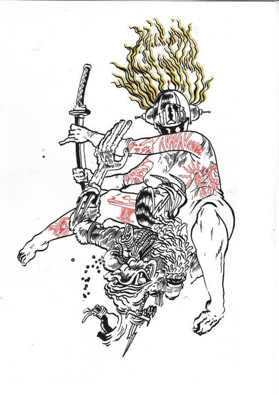 killed ny death, © KOGAN