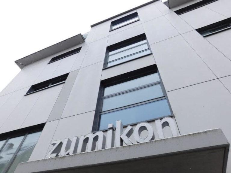 zumikon – Architektur in Bauhausformen am Nürnberger Pegnitzufer
