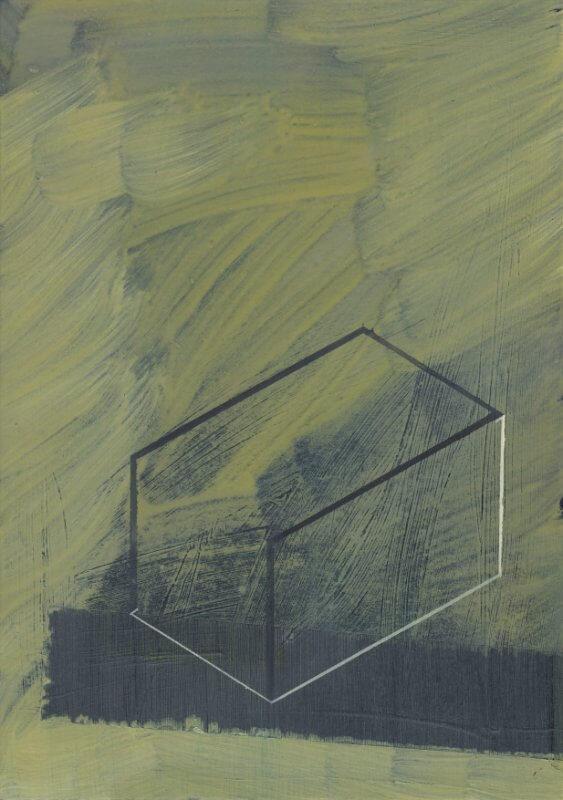 o.T. I Öl auf Papier I 29,7 x 21 cm I 2014, © Anita Blagoi