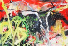 o.T., 2015, 100 x 80, Öl auf Leinwand, © Ursula Krauss