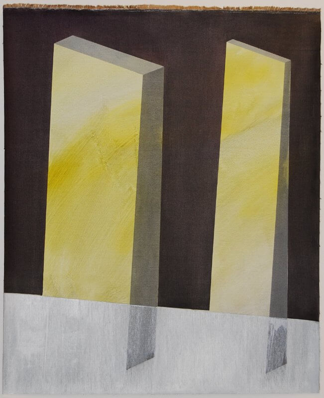 o.T. I Öl auf Leinen I 110 x 90 cm I 2016 , © Anita Blagoi