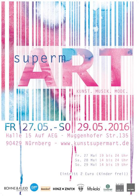 supermART 2016 in Halle 15 Auf AEG