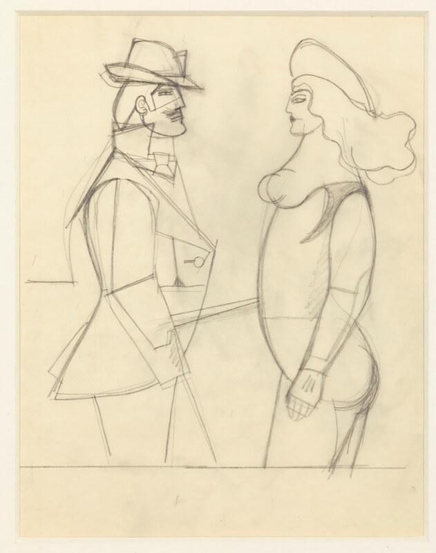Richard Lindner: Confrontation 1977, Galerie Hafenrichter, Nürnberg