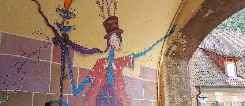 Mikolaj Rejs: Graffiti, Foto: Krakauer Haus