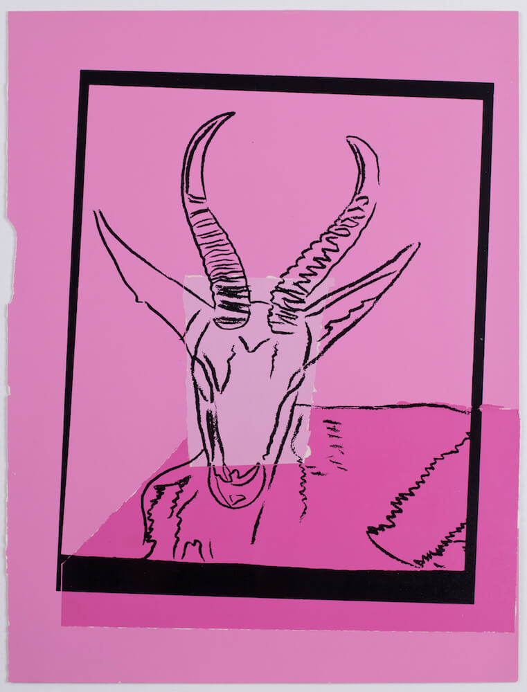 Hafenrichter Andy Warhol Vanishing Animals Sommering Gazelle 1986 45