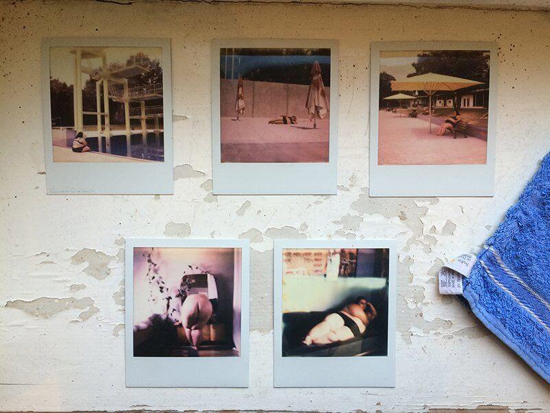 Die sind fett und gehen auch noch zu McDonald's, 5 Polaroids, 2014, © Carmen Westermeier