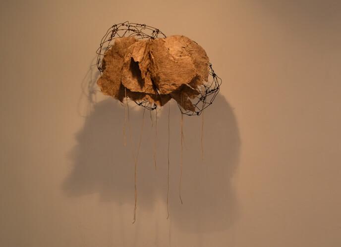 Unen Enkh, Skulpturen und Objekte, Galeriehaus Nord, 29.9. - 6.11.2016, Foto: K-nbg