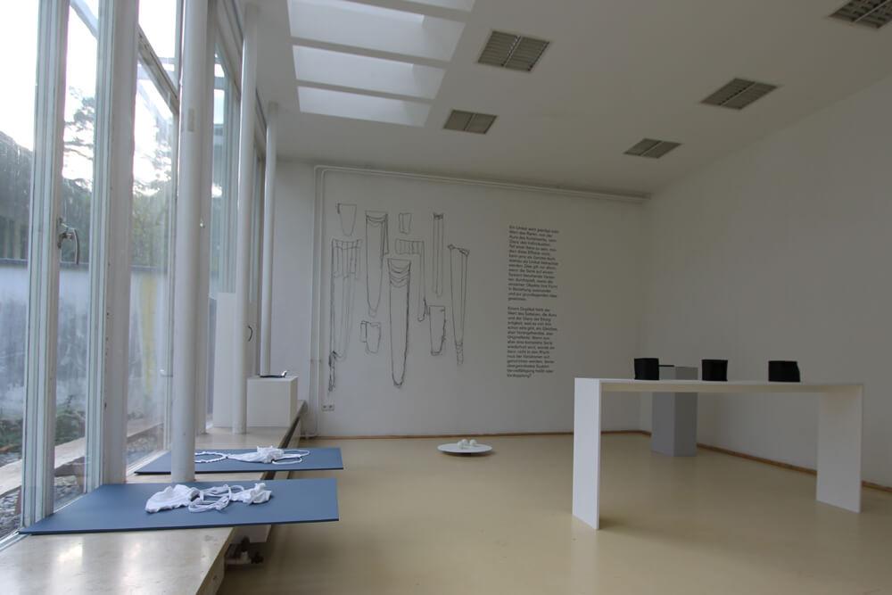 Absolventenausstellung, Werke von Ann-Kathrin Hartel, Susanne Schwarz und Nadja Soloviev, 2016