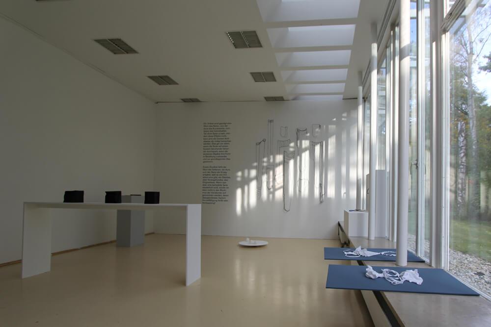 Absolventenausstellung, Werke von Härter, Susanne Schwarz und Nadja Soloviev, 2016