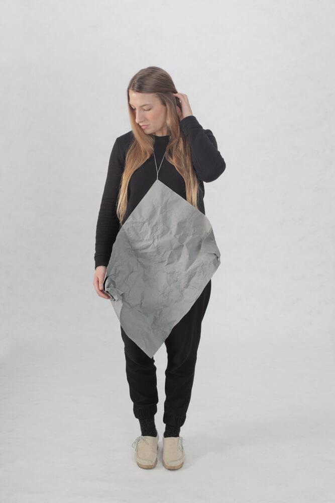 Din A1 - Din A6 2015/2016, Buchbinderleinen, Aluminium, Model: Stella Wanisch